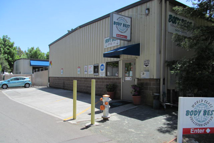 Body Best Collision Center Front Entrance